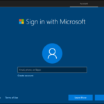 Install Windows 10 With a Local Account